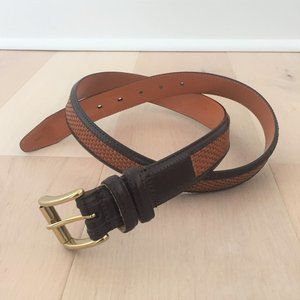 Orvis Braided Leather Belt Style 9P6R Size 38